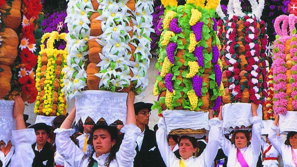 4年に1度開催タブレイロスの祭り