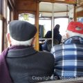 地元の人に紛れ、路面電車28番で。スリには気をつけて下さい。