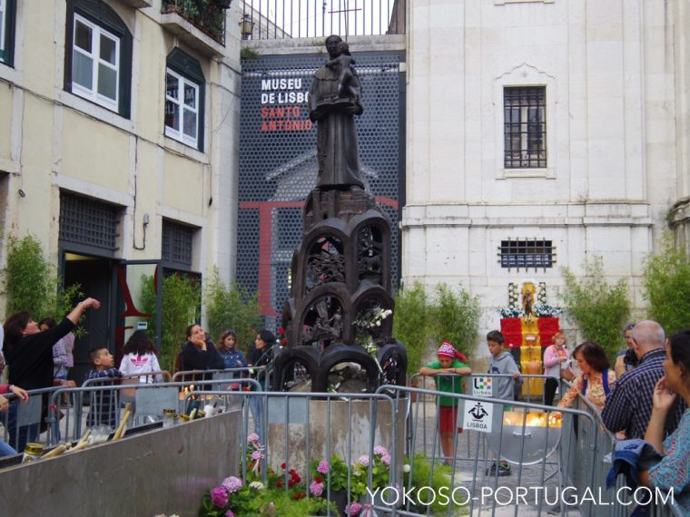 聖アントニオ像