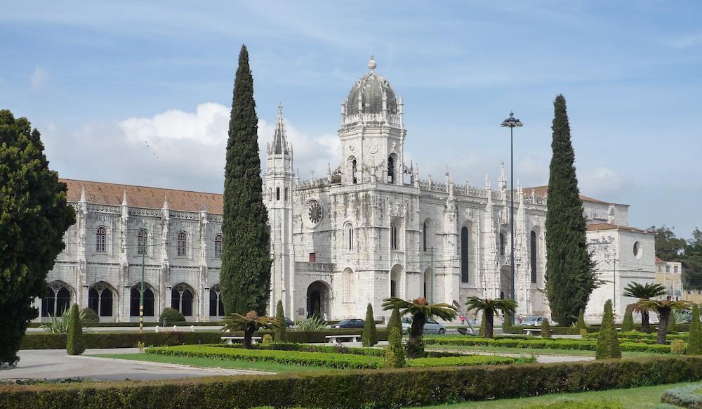 世界遺産のジェロニモス修道院
