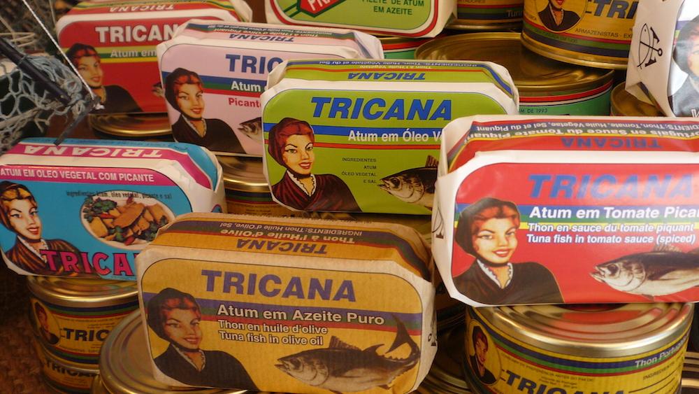 ポルトガル名物の魚の缶詰