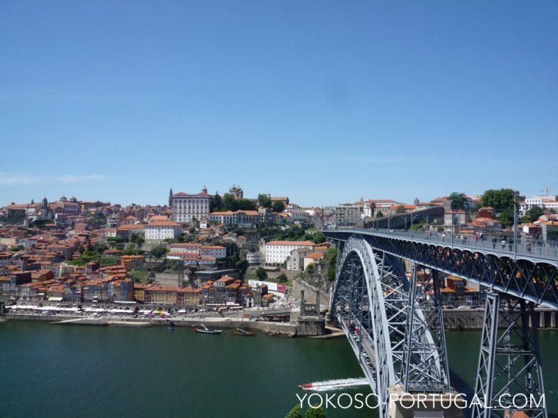 ポルト歴史地区、ルイス1世橋およびセラ・ド・ピラール修道院