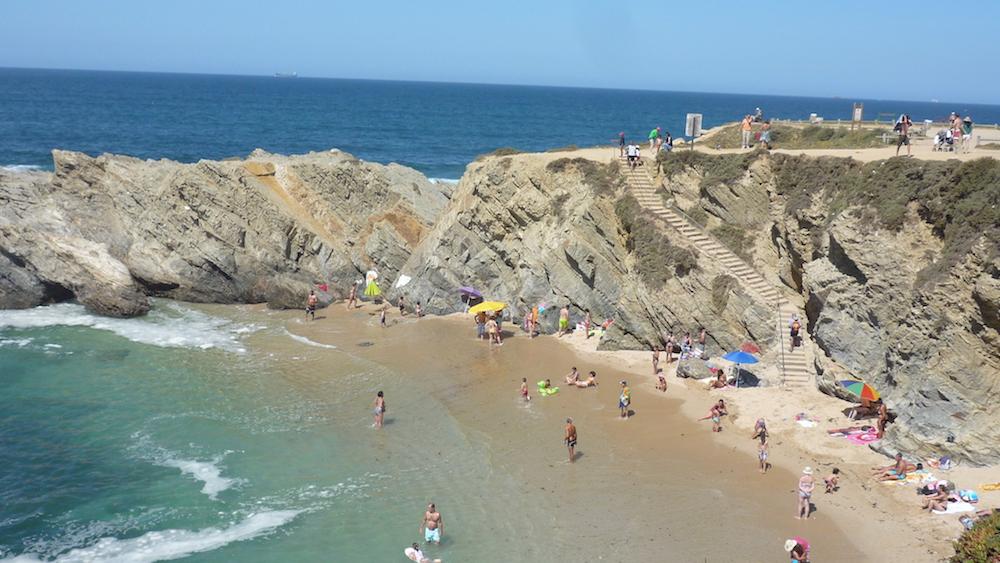 アレンテージョのビーチ