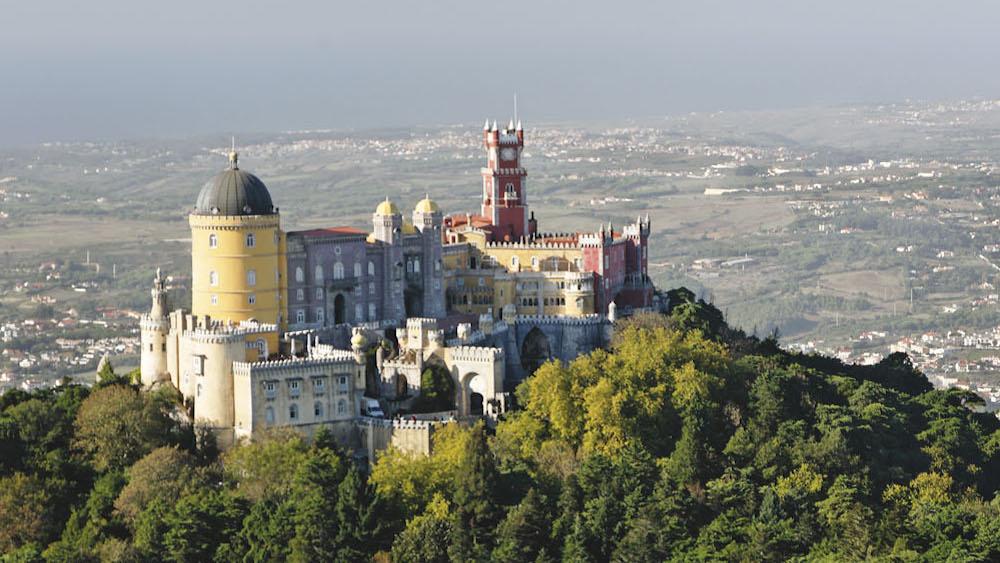 世界遺産シントラのペナ宮殿
