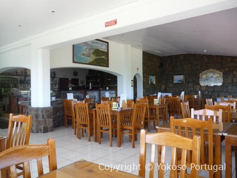 ロカ岬にあるカフェ