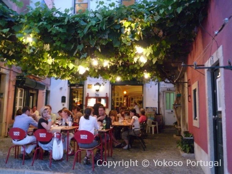 ポルトガルのレストラン